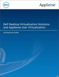 Dell AppSense Architecture Guide